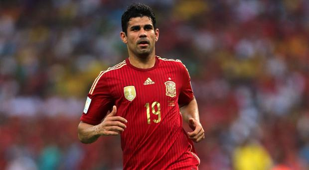Diego Costa has been left out of the Spain squad