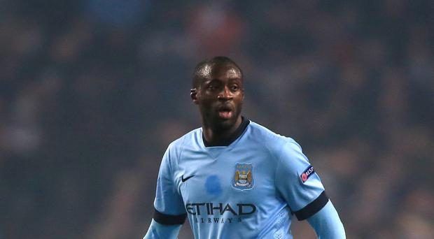 Yaya Toure, pictured, is not for sale, insists Manchester City manager Manuel Pellegrini