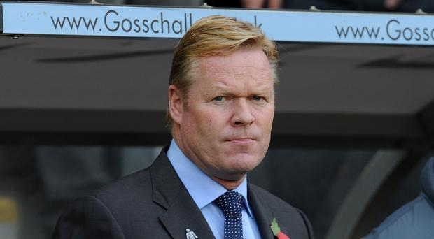 Ronald Koeman has guided Southampton to second in the table after victory against Leicester