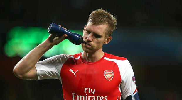 Arsenal defender Per Mertesacker wants the Gunners to quickly learn their lessons