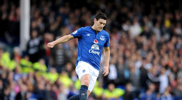 Gareth Barry was carried off just 13 minutes into Sunday's 1-1 draw at Sunderland