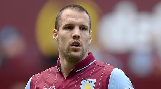 Ron Vlaar's Aston Villa contract expires at the end of the season
