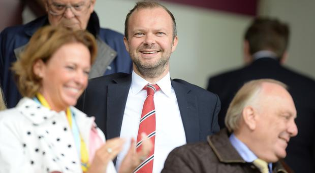 Manchester United chief executive Ed Woodward will update investors on the club's finances on Tuesday