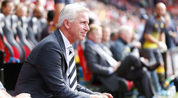 Alan Pardew is aiming to protect Newcastle's impressive run of form