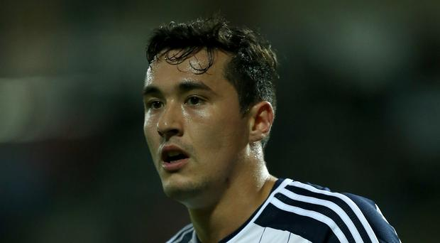 West Brom's Jason Davidson wants to make more of an impact at the club