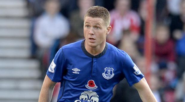Injury forced James McCarthy to miss the Republic of Ireland's recent internationals