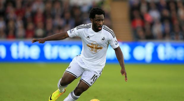 Swansea striker Wilfried Bony has signed a one-year contract extension with the club.