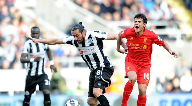 Manager Alan Pardew has insisted Newcastle took a