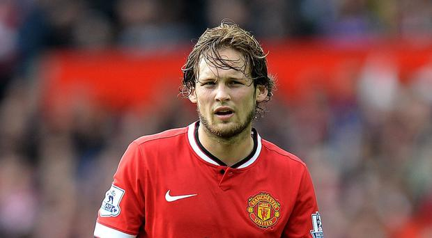 Manchester United's Daley Blind will not be returning to fitness soon, according to boss Louis van Gaal.