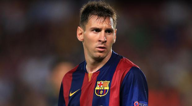 Lionel Messi, pictured, could have joined Arsenal when Cesc Fabregas did