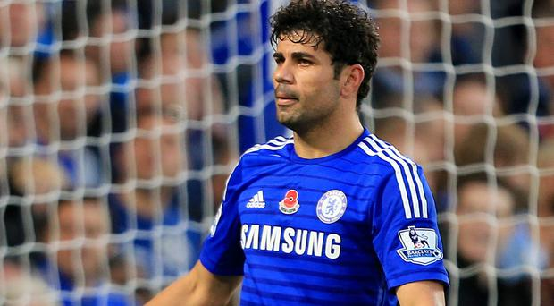 Figure of hate: Chelsea's Diego Costa is never too far from controversy