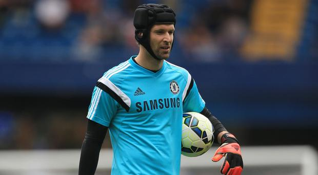 Jose Mourinho has played down talk Petr Cech, pictured, wants to leave Chelsea