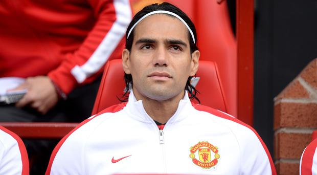 Radamel Falcao has endured a frustrating start to his Manchester United career