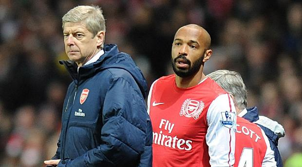 Thierry Henry has retained close links with the club since leaving for Barcelona in 2007
