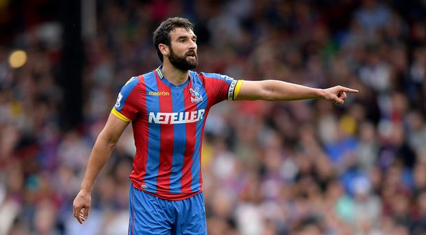 Mile Jedinak will make his return from suspension for Crystal Palace