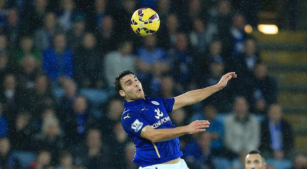 Matty James went close for Leicester