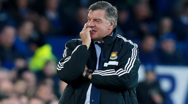 West Ham manager Sam Allardyce was baffled by the decision to allow Everton's opening goal