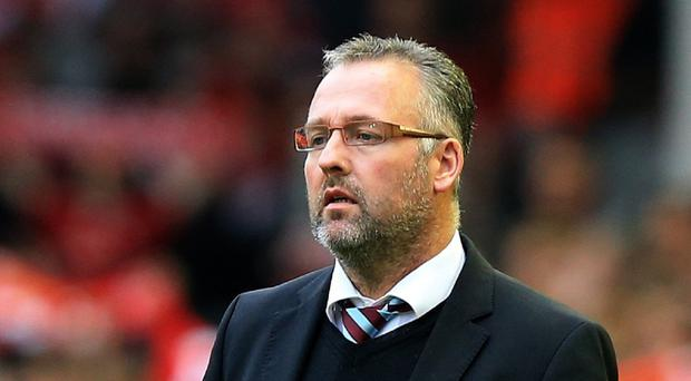 Aston Villa manager Paul Lambert reaches 100 games in charge against Southampton on Monday