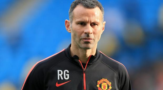 Ryan Giggs, pictured, enjoys learning from Louis van Gaal at Manchester United