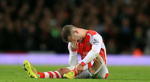 Arsenal's Jack Wilshere, pictured, will see an ankle specialist