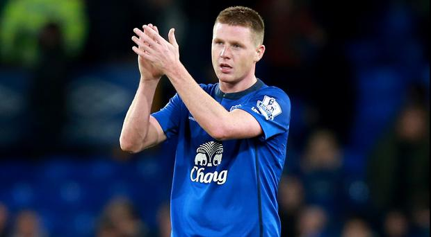 James McCarthy has suffered his second hamstring injury in a month