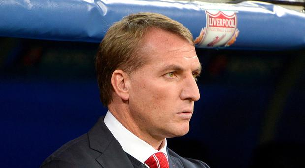 Brendan Rodgers saw his side crash out of the Champions League last night