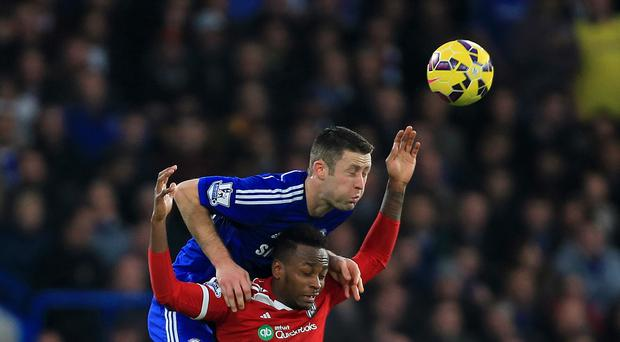 Gary Cahill (left) believes Chelsea have a new-found mental strength this season