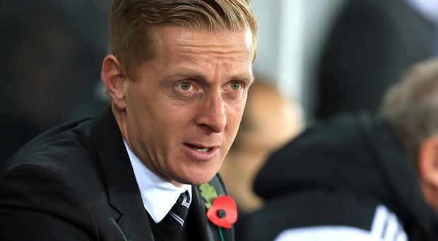Swansea City manager Garry Monk has the same squad to pick from