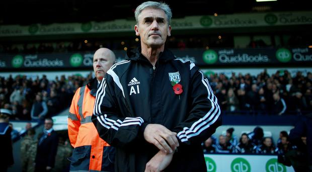 West Brom manager Alan Irvine wants to keep the fans on side