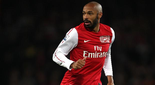 Thierry Henry, pictured, will return to Arsenal in the future, according to Gunners boss Arsene Wenger