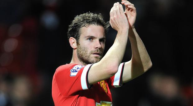 Juan Mata hopes there will be further cause to celebrate at Old Trafford in December