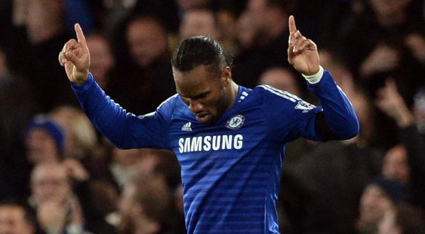 Jose Mourinho expects Didier Drogba, pictured, to see out his playing career at Chelsea before staying on at the club in some capacity