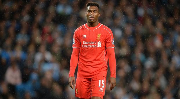 Daniel Sturridge has not featured for Liverpool since August