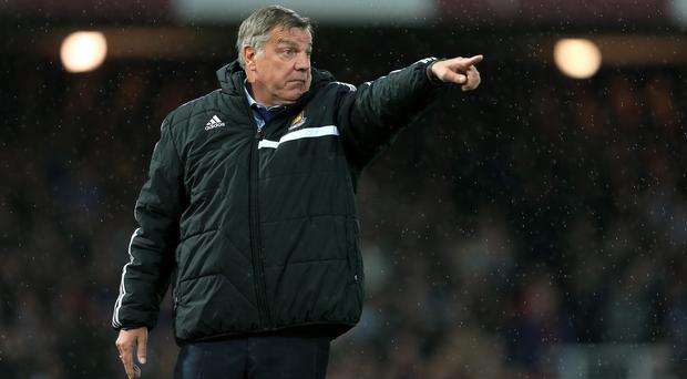 Sam Allardyce, pictured, signed Andy Carroll instead of Wilfried Bony