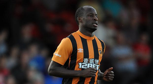 Sone Aluko has been troubled by an Achilles problem in recent years