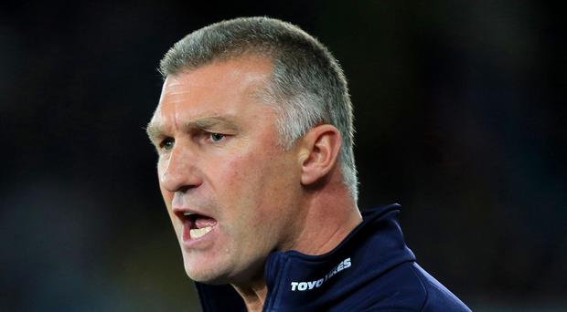 Leicester manager Nigel Pearson will not say sorry to a fan after their argument