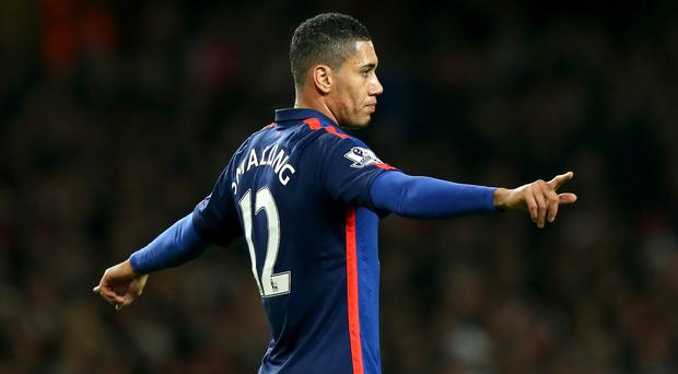 Chris Smalling and Manchester United have had to watch the Champions League from afar