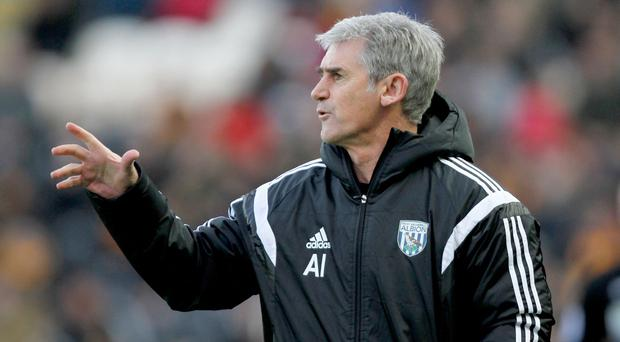 West Brom boss Alan Irvine was happy with his side's goalless draw at Hull on Saturday