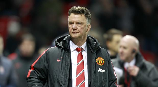 Manchester United manager Louis van Gaal says he is