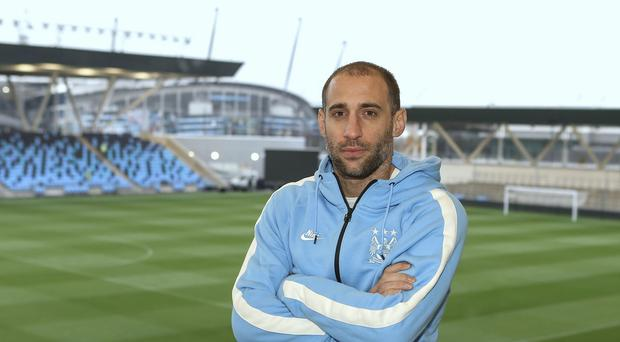 Manchester City defender Pablo Zabaleta is impressed with the club's new facilities