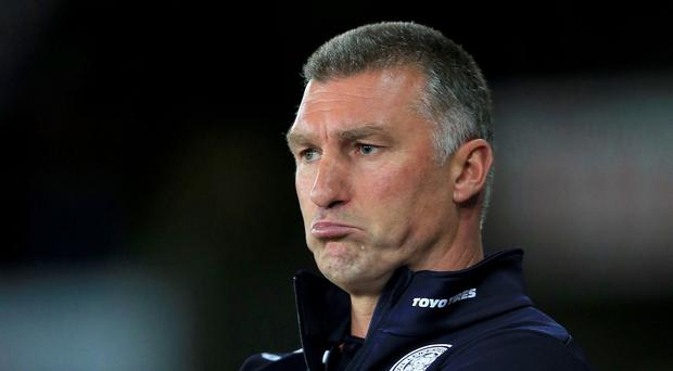 Leicester boss Nigel Pearson was involved in a row with a fan during last week's defeat to Liverpool