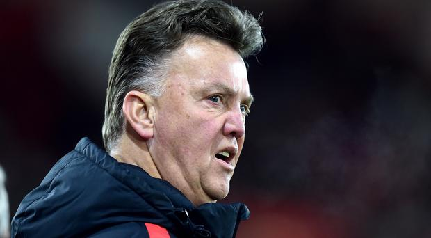 Louis van Gaal was not happy with Manchester United's display at St Mary's