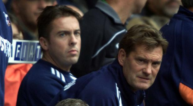 Glenn Hoddle, right, thinks Tottenham need a special player to inspire their climb back up the Premier League standings