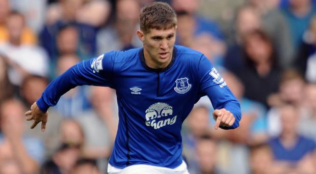 John Stones has missed the last two months after sustaining an ankle injury against Manchester United