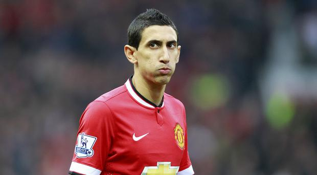 Angel di Maria will not be part of the Manchester United squad to face Liverpool