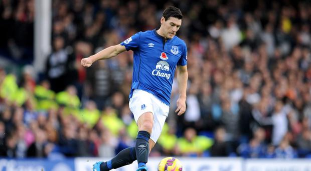 Gareth Barry will miss Monday's clash between Everton and QPR through suspension