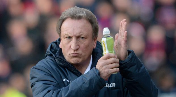 Neil Warnock was critical of Stoke's tactics