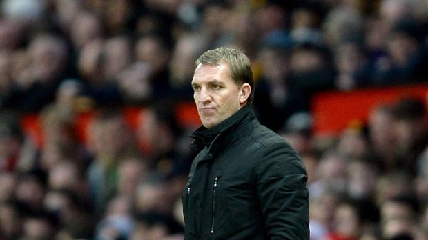 Liverpool manager Brendan Rodgers, pictured, felt his side did enough to beat Manchester United