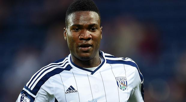 Brown Ideye is yet to score in the Barclays Premier League for West Brom