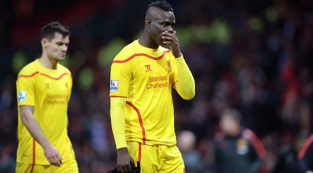Mario Balotelli has scored just twice in 15 appearances for Liverpool